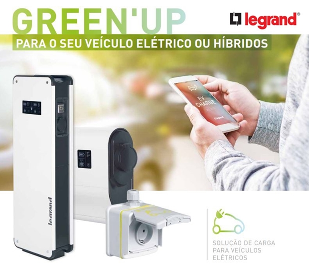 Green'UP outlets for electric vehicles