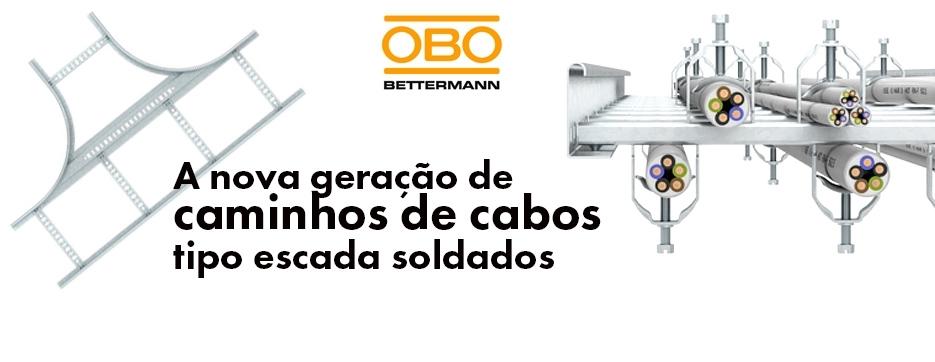 Nova geração de caminhos de cabos tipo escada soldados da OBO Bettermann