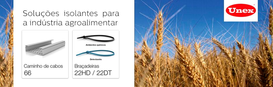 Soluções isolantes para a indústria agroalimentar da  Unex