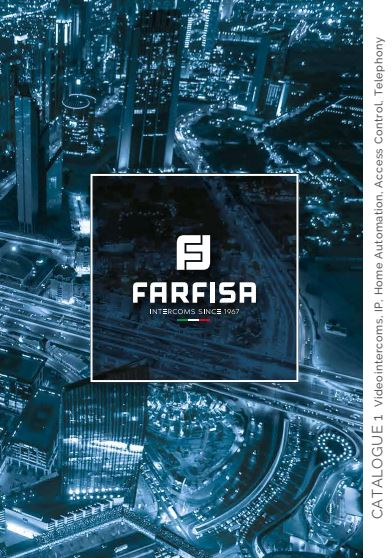 Catálogo FARFISA