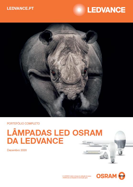 Lâmpadas LED OSRAM da Ledvance