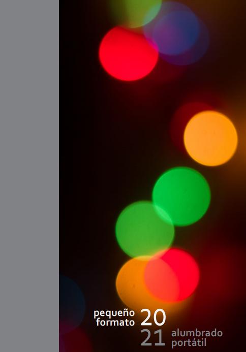 Iluminação Portátil  Pequeno Formato