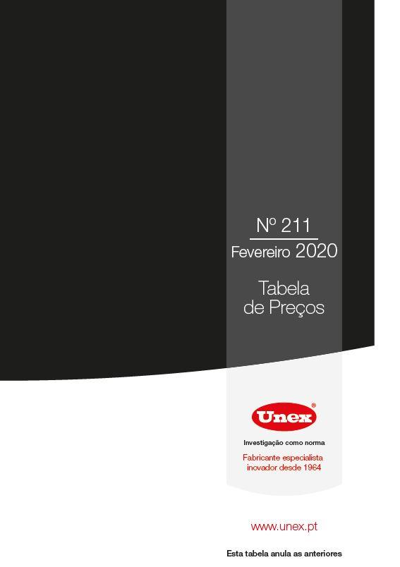 Catálogo UNEX 2020