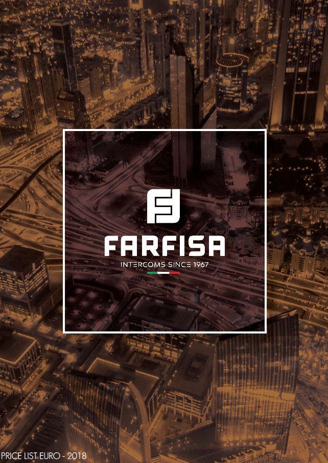 Tabela de Preços FARFISA 20214